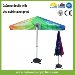 Large Advertising Parasol Umbrella For Sale