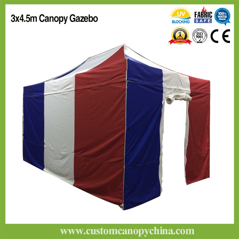 10x15ft custom canopy tent with walls and gate. Black Bedroom Furniture Sets. Home Design Ideas