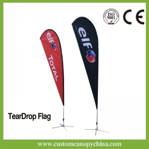 Tear Drop Flag Banner