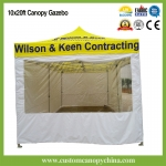 3x6m (10x20ft) Pop Up Gazebo Marquee With Full Walls and Window
