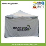 4x4m  Dye Sublimation Print Trade Show Tent Booth