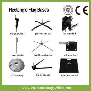 Custom Rectangle Beach Flag